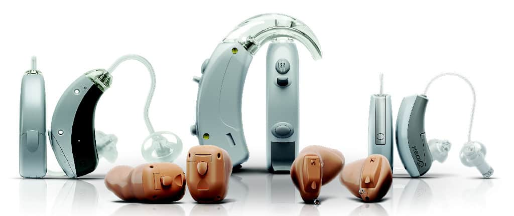 Widex Clear wireless hearing aids